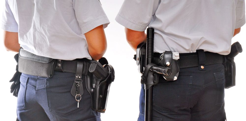 Armes de service de la Police Nationale